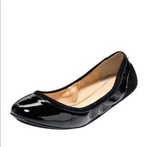 Cole Haan Avery Patent Leather Ballet Flats: Black